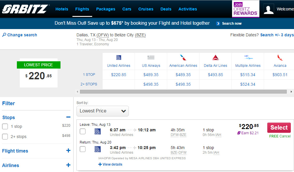United airlines discount coupons