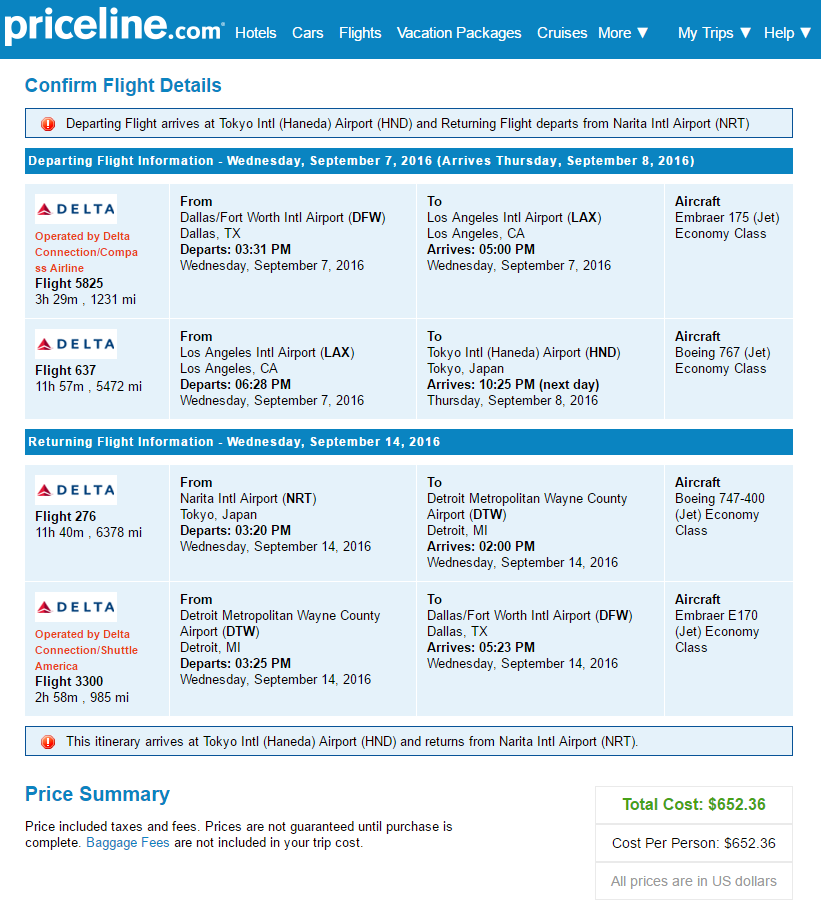 Discount flight coupons