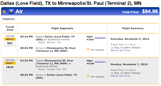 flights to msp from dallas