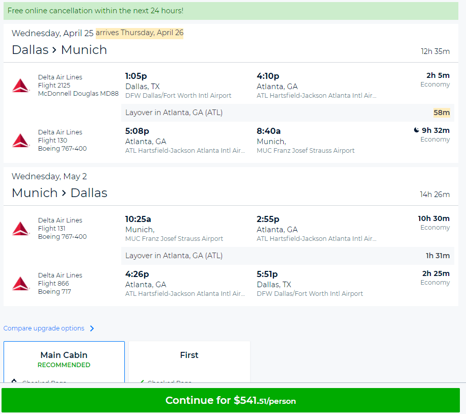 Want a tutorial on another topic? Hit the comments! Priceline doesn't advertise it, but they offer a generous cancellation policy on airline tickets that involve travel to, from, or within the USA.