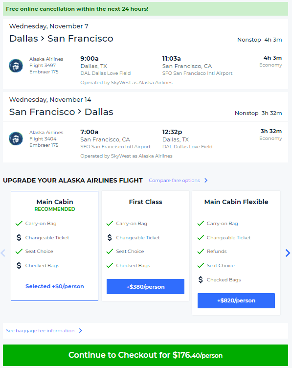 Nonstop Flights Dallas To From San Francisco Portland