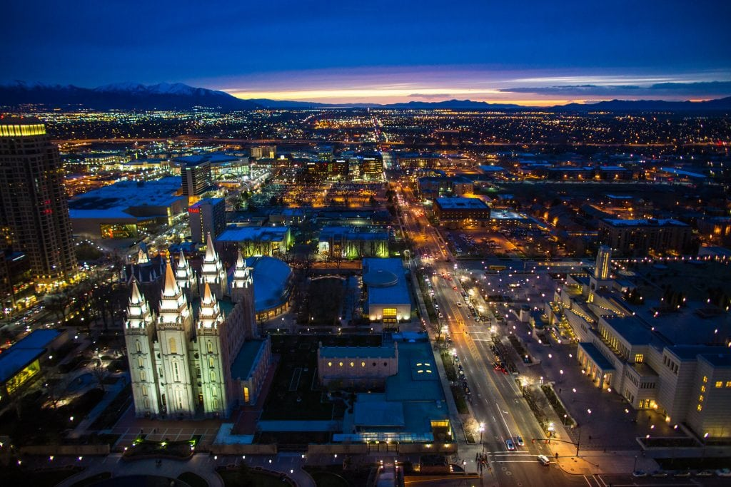 Nonstop Flights Dallas To From Salt Lake City 177 R T